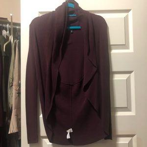 Express purple cardigan. Xs.